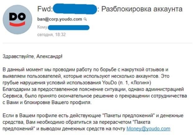 Отзывы о Youdo.com - биржа для любых услуг
